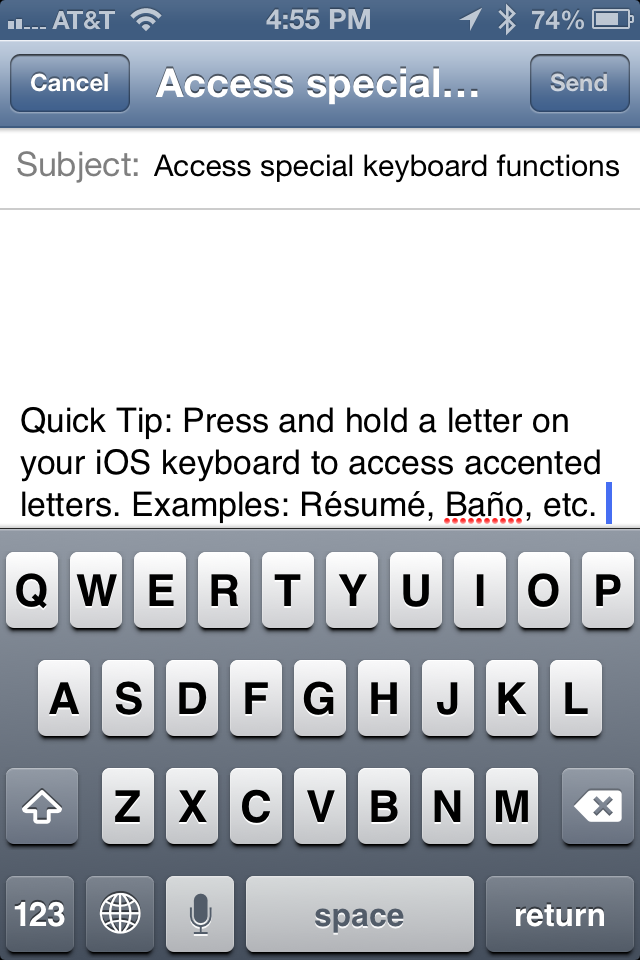 quick tip  how to use accents on your iphone  ipad  ipod touch keyboard