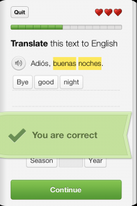 Learn a new language for free with Duolingo App for iPhone, iPad (Mini), and iPod Touch
