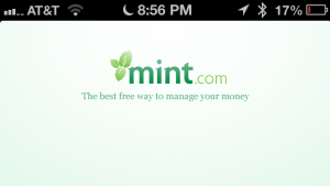 Mint iPhone App Screenshot