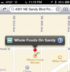 how to use maps app on iPhone 4S and iPhone 5