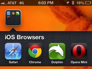 Meilleur navigateur web alternatives à Safari sur iOS