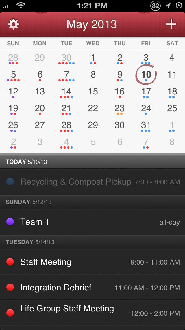 Calendar App For Iphone : Fantastical best alternative calendar app for iphone and