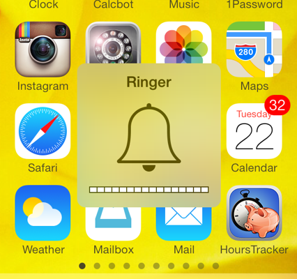 iOS 7: How to set volume for music, ringer, alarm, and Siri - iPhone, iPad (Mini), iPod Touch