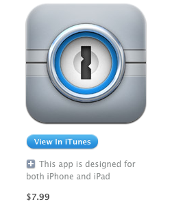 1Password App discounted by more than 50%