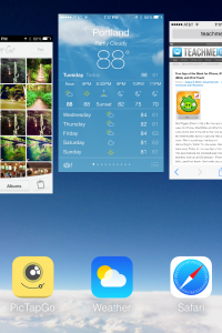 How to close Multitasking Apps in iOS 7