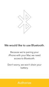 1. Bluetooth Setup