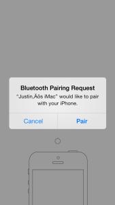 4. Pairing Request