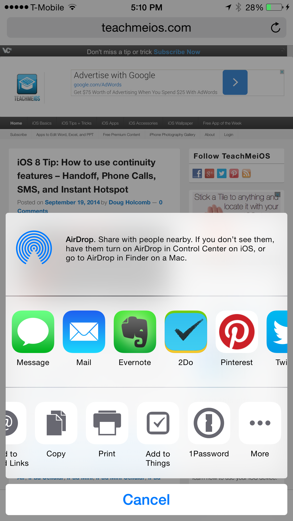 Ios 8 Tip: How To Use Extensions In Safari On Iphone, Ipad, And