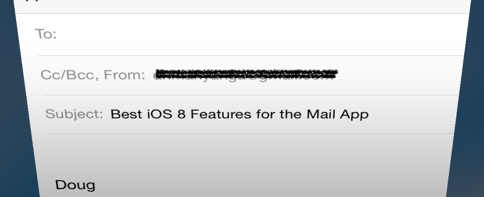 iOS 8 Tip: How to use 3 of the best new features in the Mail App