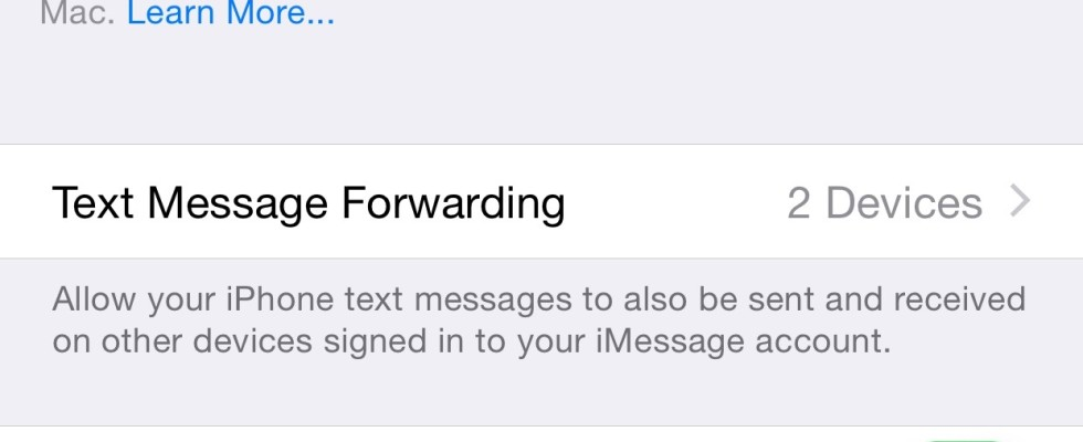 How to turn on text message forwarding from iPhone to iPad and Mac
