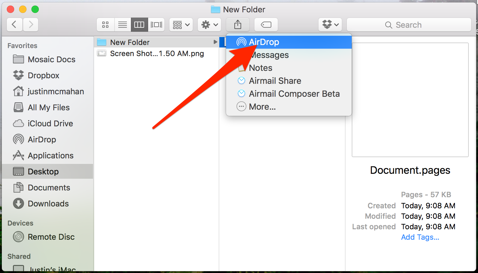 How To Use Airdrop To Transfer Files Between Apple Devices